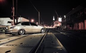 Picture machine, auto, rails, traffic light, Honda, Accord, drives, auto, Grey, moving, Matte, Sedan, Face, Wheels, …