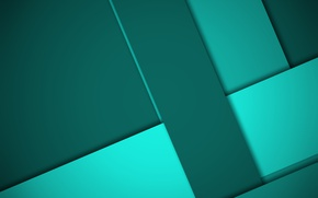 Picture line, green, design, material