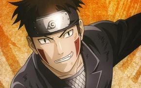 Wallpaper portrait, grin, Kiba Inu Turned Out, Naruto, ninja, headband