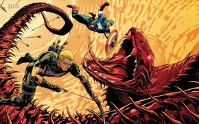 Picture bow, glasses, shield, Captain America, Hawkeye, Hawkeye, Clinton Francis Barton