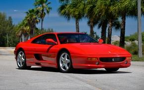 Picture Ferrari, supercar, Ferrari, GTS, F355, 1994