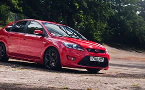 Picture Ford, red, Focus