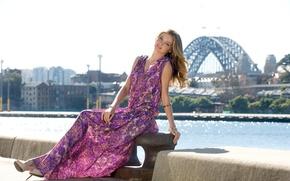 Picture girl, model, dress, Miranda Kerr, Miranda Kerr