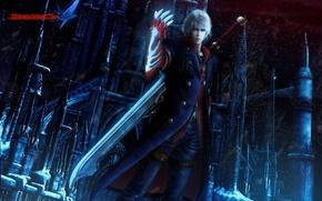 Picture demon, Nero, devil may cry 4, capcom