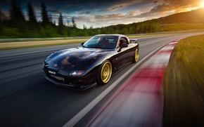 Picture car, speed, mazda, rx7, rx-7