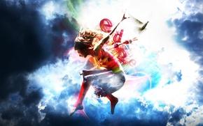 Wallpaper collage, dance, ballerina