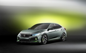 Wallpaper Concept, the concept, Honda, Honda, Civic, civici