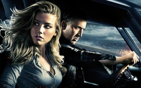 Picture Nicolas Cage, Amber Heard, Amber Heard, Nicolas Cage, Drive angry, Drive Angry
