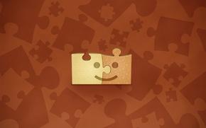 Wallpaper figure, Puzzles