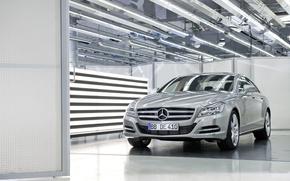 Picture auto, light, Mercedes