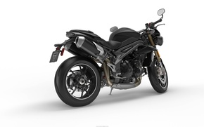Picture motorcycle, triumph, speed triple 2016