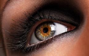 Wallpaper eyes, eyelashes, 152