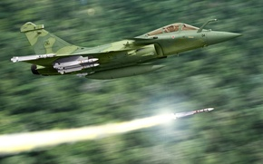 Picture graphics, Dassault, French multi-role fighter of the fourth generation, art, Squall, the Brazilian air force, …