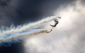 Picture the sky, clouds, Russia, MiG 29