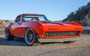 Picture Corvette, Chevrolet, 1965, Wheels, Concave, SCAR, Greg, DE3C, Forgeline, Thurmond's