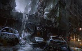 Picture Winter, Game, The building, Ubisoft, Game, Tom Clancy's The Division