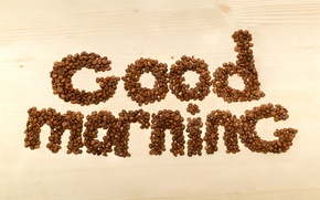 Picture coffee, beans, coffee, good morning
