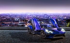 Wallpaper Ford, Concept, the concept, Ford