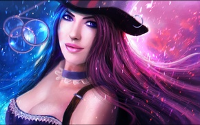 Picture League of Legends, Caitlyn, LOL, League Of Legends, ADK, ADK, Caitlin, LOL