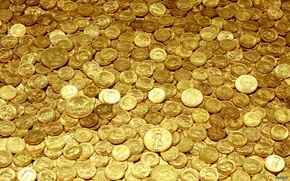 Picture yellow, gold, money, coins