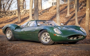 Picture Jaguar, Prototype, Jaguar, the concept, prototype, car, V12, 1966, the only instance, Sports Racer, XJ13