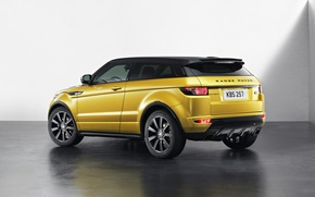 Picture Range Rover, Yellow, Evoque