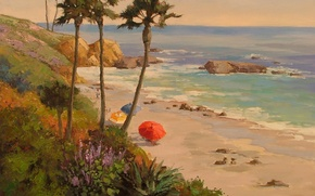 Picture art, Sean Wallis, Late Afternoon At Laguna