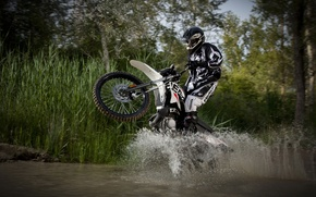 Picture water, squirt, Moto, Sport, stories, derbi