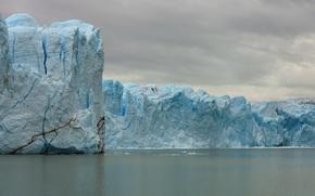 Picture landscape, ice, Argentina, Santa Cruz, El Calafate