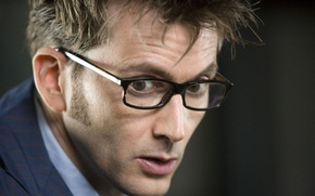 Picture face, glasses, actor, male, Doctor Who, Doctor Who, David Tennant, David Tennant, Tenth Doctor, Tenth …