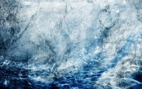 Picture ART, WATER, ICE, TEXTURE, SIRIUS-SDZ