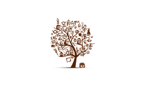Picture tree, coffee, ice cream, Cup, cocktail, grain, coffee, pouch, Turk, coffee maker