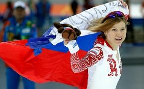 Picture Russia, skates, Sochi 2014, The XXII Winter Olympic Games, Olga Fatkulina