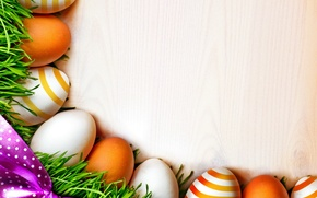 Picture eggs, Easter, grass, eggs, easter