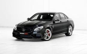 Picture black, Mercedes-Benz, Brabus, Mercedes, AMG, Black, BRABUS, C-Class, W205