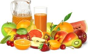 Wallpaper berries, juice, fruit