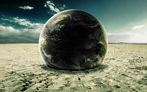 Picture earth, the world, planet