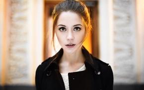Picture look, girl, face, girl, beautiful, beautiful, model, Kseniya Kokoreva
