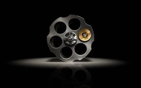 Picture cartridge, Gun, Bullet, Black, drum, Russian, roulette, Russian, Roulette, Handgun