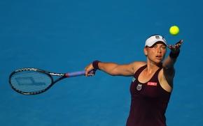Wallpaper racket, swing, tennis, Vera Zvonareva