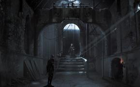 Picture Square Enix, Concept Art, Eidos Interactive, Thief, Garrett, Eidos Montreal
