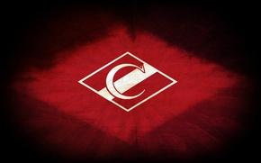 Picture retro, strip, logo, Moscow, red-white, Moscow, Spartacus, Spartak, Spartakmoskva