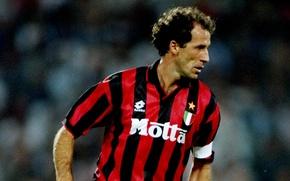 Picture Milan, defender, Italian, Franco Baresi