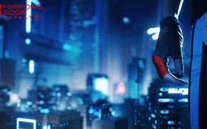 Picture girl, the city, the game, Mirror's Edge: Catalyst