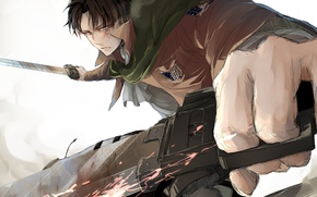 Picture look, anime, art, guy, the invasion of the giants, attack of the titans, Shingeki no …