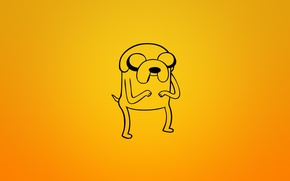 Picture Jake, dog, Jake, adventure time, adventure time