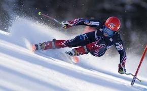 Picture snow, race, speed, ski, sportswear