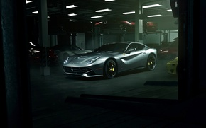 Picture supercar, ferrari, garage, f12, f12berlinetta