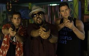 Picture Jonah Hill, Channing Tatum, 22 Jump Street, Macho and nerdy 2, Ice Cube
