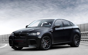 Picture BMW, BMW, black, Ball Wed, X6 M, E71